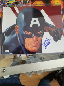 Signed: Stan Lee Captain America!