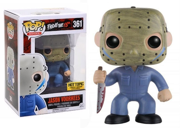 Pop! Movies: Friday the 13th - Jason Voorhees Hot Topic #361