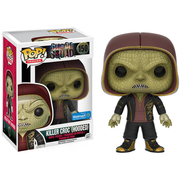 Pop! Heroes: Suicide Squad - Killer Croc 150 (Hooded)