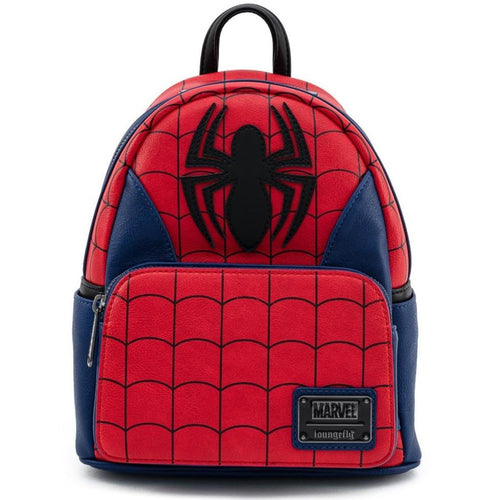 LOUNGEFLY MARVEL SPIDER-MAN CLASSIC COSPLAY MINI BACKPACK