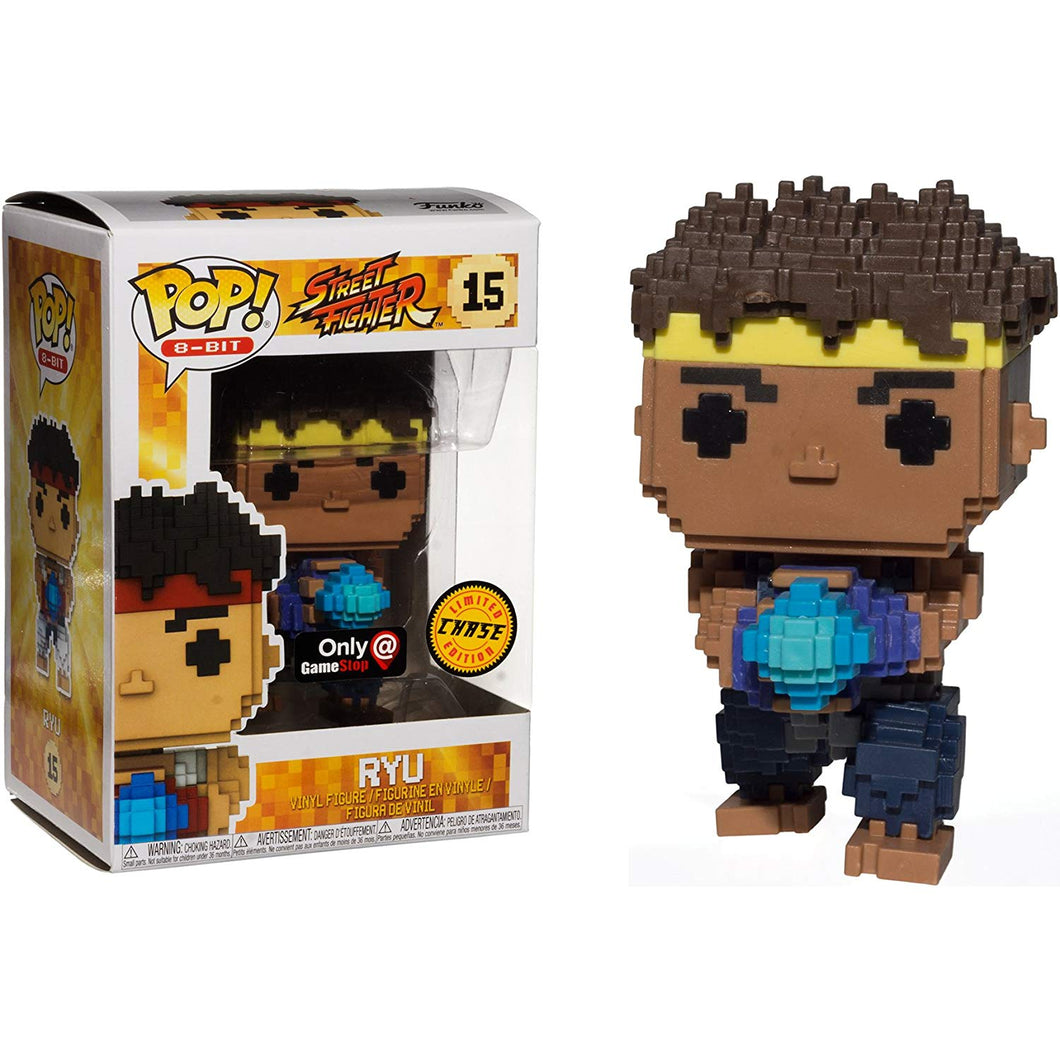Pop! 8-Bit - Street Fighter - Ryu GameStop #15 Chase
