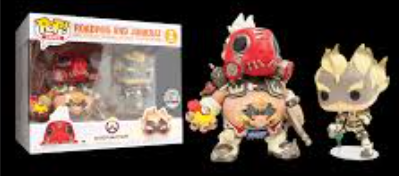 Overwatch: Roadhog And Junkrat - Blizzard Exclusive