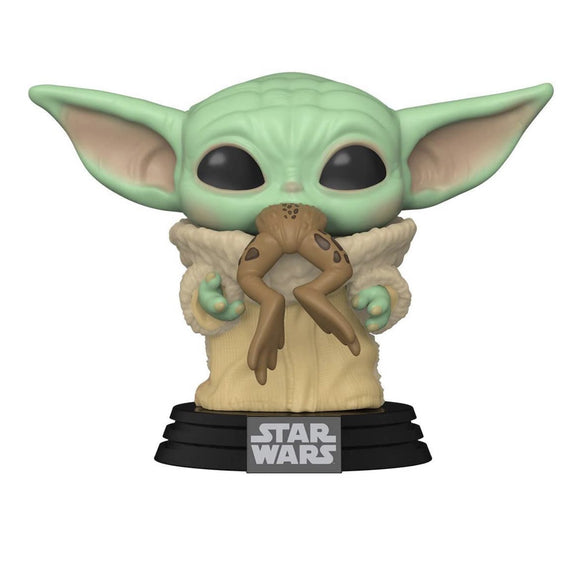 POP Star Wars: Mandalorian - The Child w/ frog