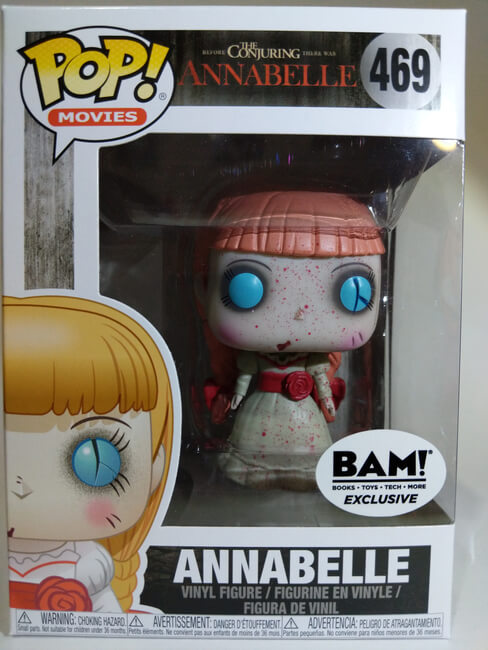 Pop! Movies: Horror S4: Annabelle BAM Exclusive