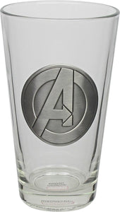 Avengers Medallion Glass
