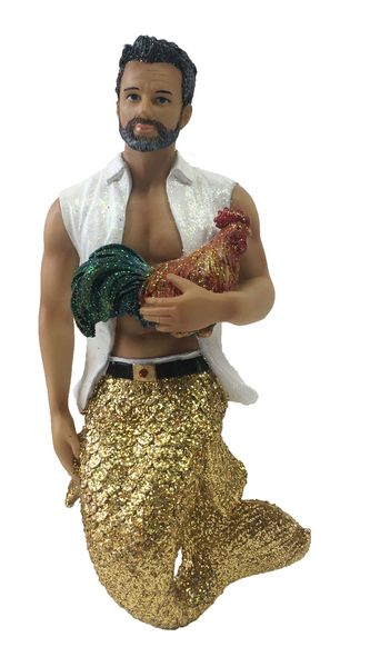 Merman Ornament Conch Daddy