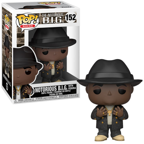 Pop Rocks: Biggie - Notorious B.I.G. with Fedora