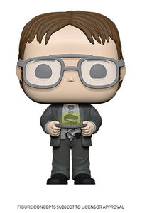 POP TV: The Office S2 - Dwight w/ Gelatin Stapler