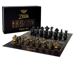 Zelda chess set