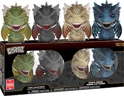 Dragons 4 pack Dorbz