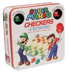 CHECKERS & TIC TAC TOE: Super Mario