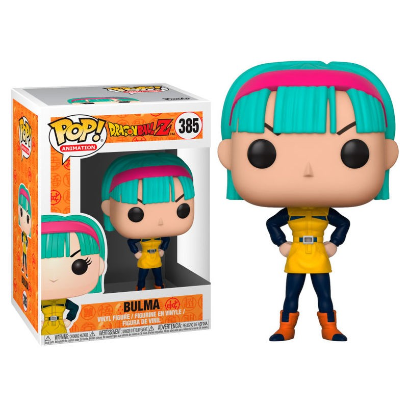 Pop Animation: DBZ S4 - Bulma (YW)