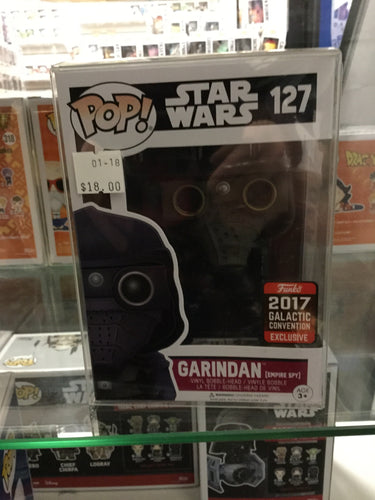 Pop! Star Wars: Garindan 2017 Galactic Convention #127