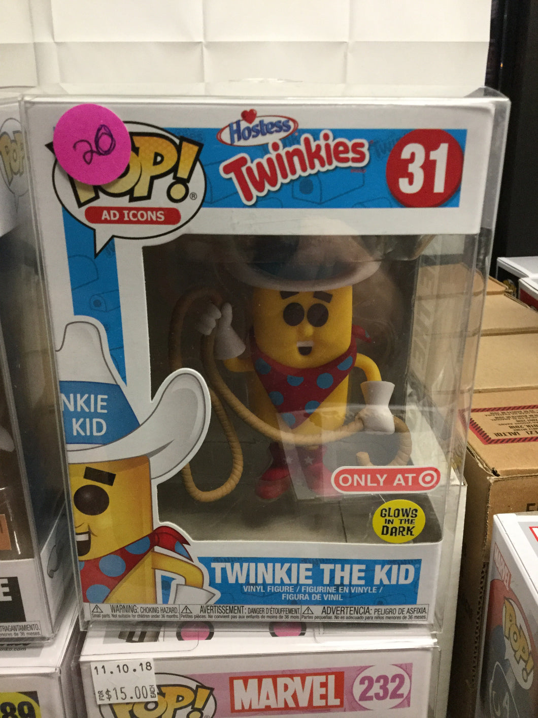 POP Ad Icons: Hostess - Twinkie the Kid Target Exclusive