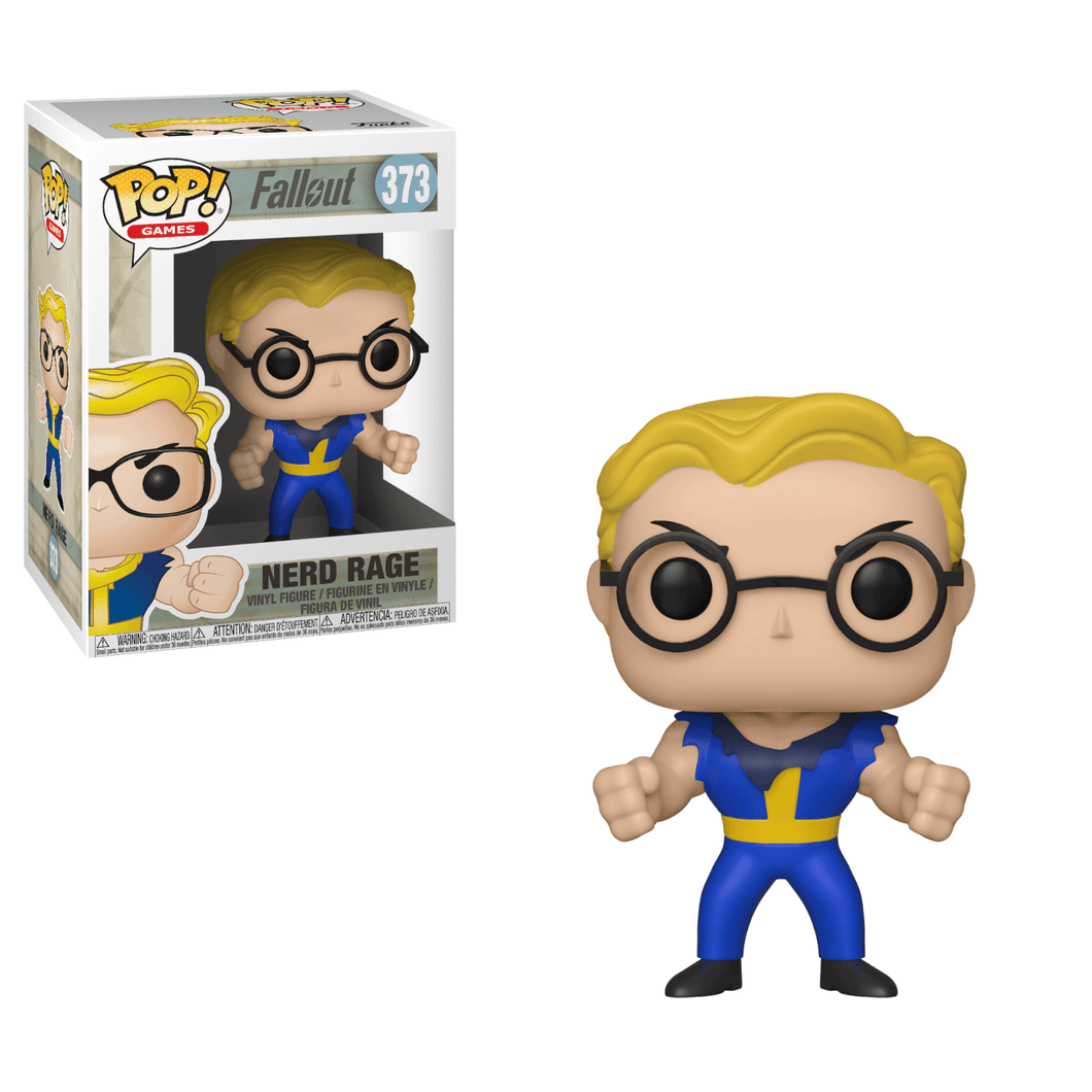 Pop Games: Fallout S2 - Vault Boy (Nerd Rage)