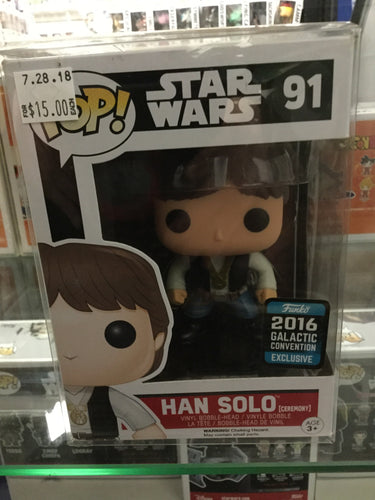 Pop! Star Wars: Han Solo 2016 Galactic Convention #91
