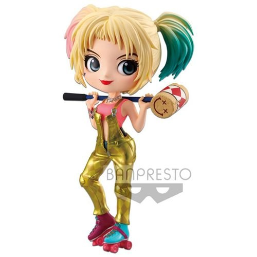 Birds of Prey QPosket - Harley Quinn (Ver.A - gold)