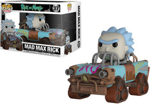 Pop! Ride: Rick & Morty - Mad Max Rick #37