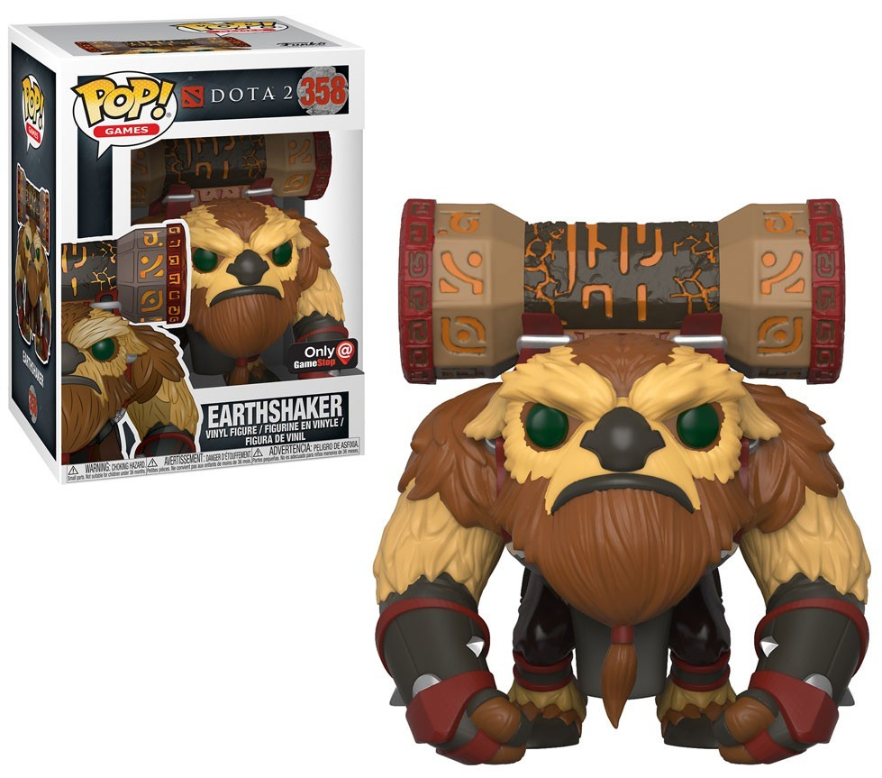 Pop Games: Dota 2 S1 - Earthshaker GameStop Exclusive