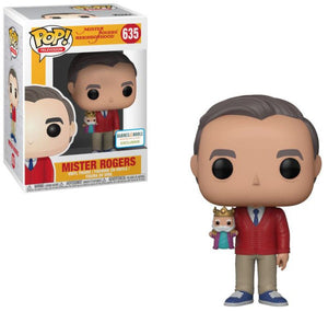 POP: TV - Mr Rogers with Puppet B&N Exclusive