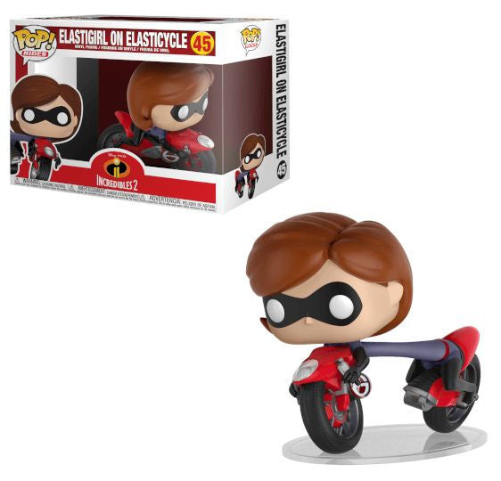POP Rides: Incredibles 2 - Elastigirl on Elasticyc