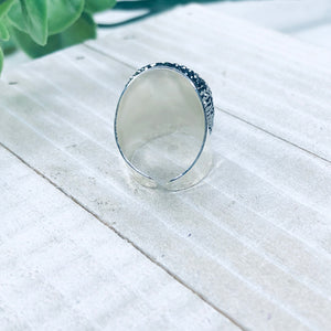 Lavender Faceted Ring