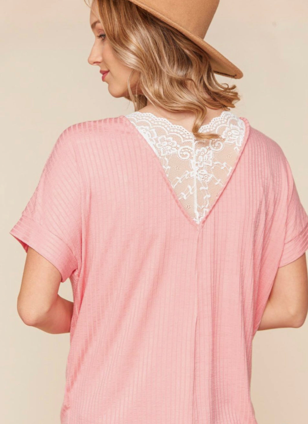 Elizabeth Lace Back Top