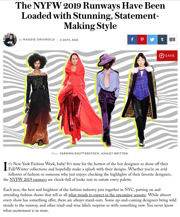 Stylecaster.com article