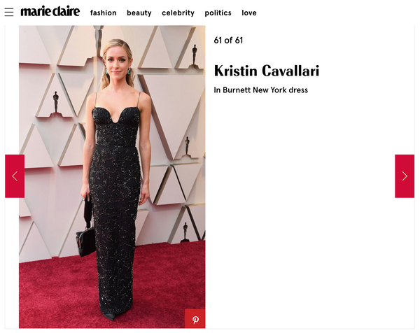 Marie Claire Oscars Best Dressed