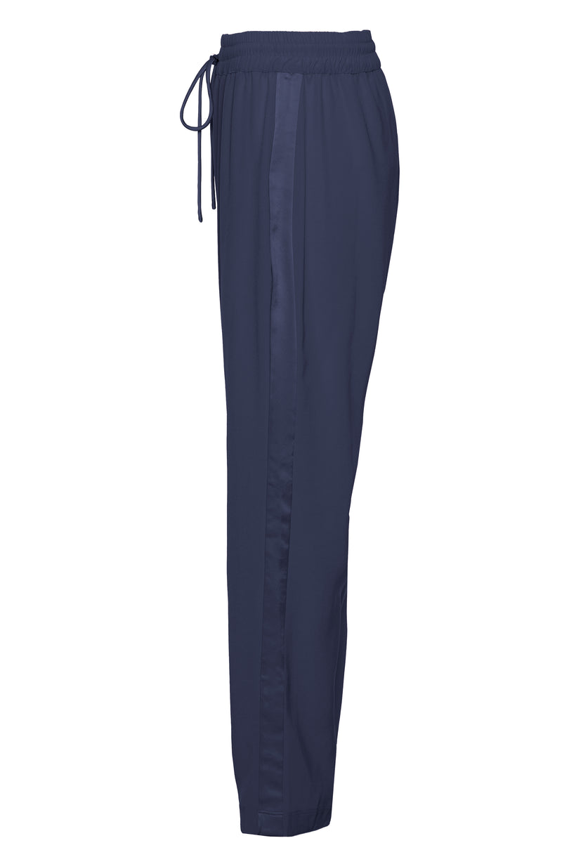 STRETCH SATIN LOUNGE PANTS