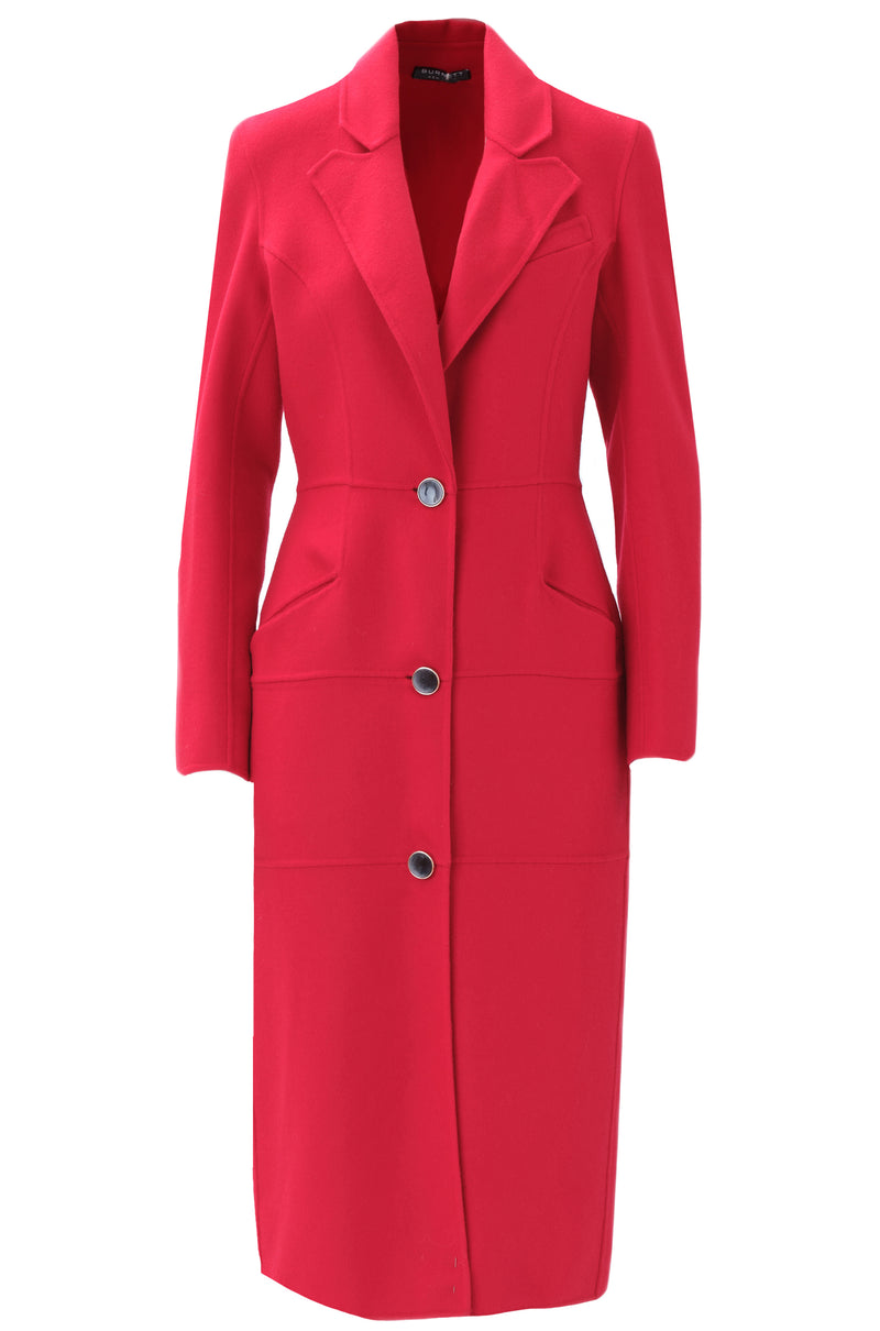 CASHMERE PANELED COAT