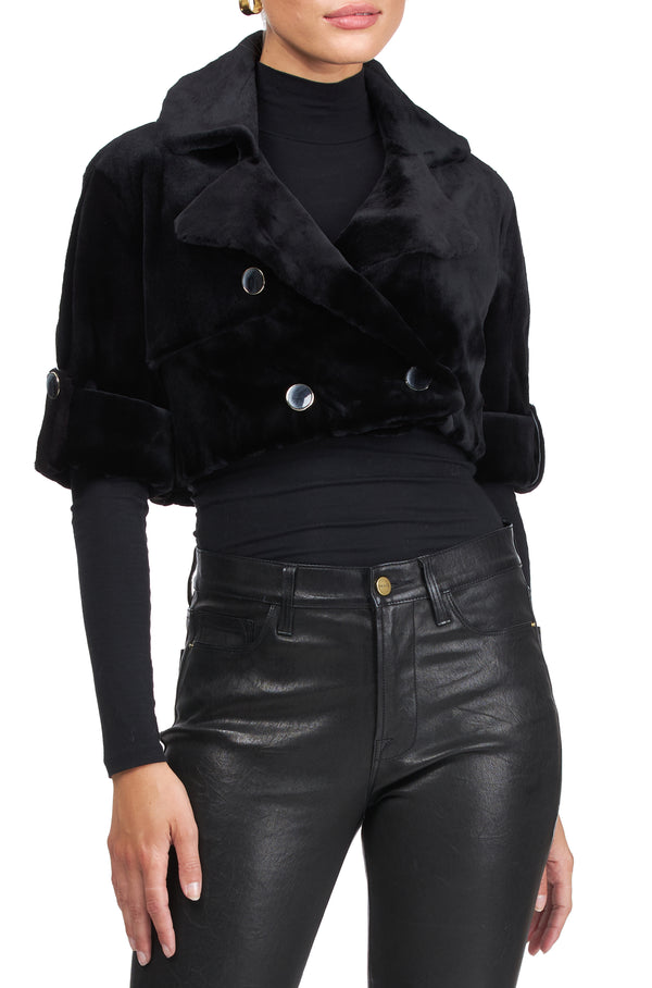 CROP MINI TRENCH