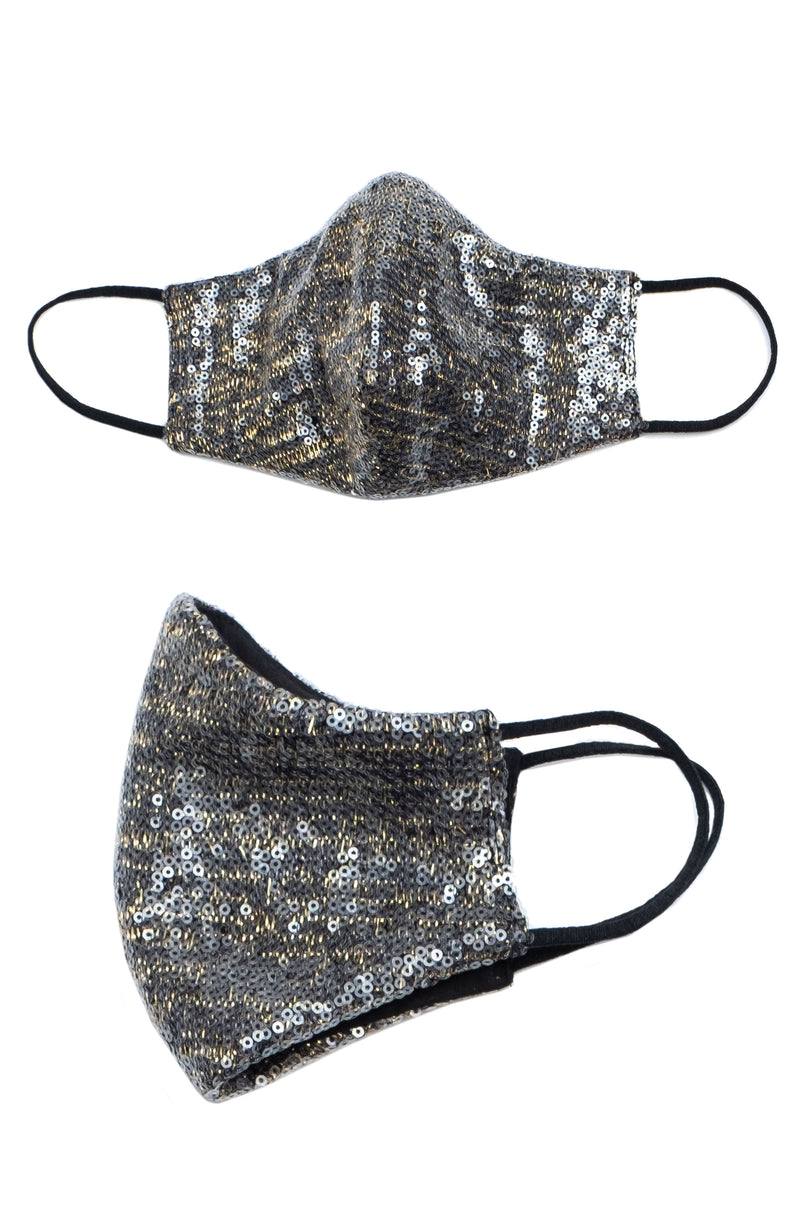 METALLIC SEQUIN DIP MASK