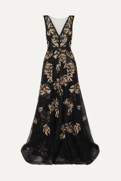Gold Leaf Gown