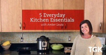 5 Everyday Kitchen Essentials for the Amateur Chef