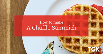 Low Carb Chaffle Sandwich Recipe