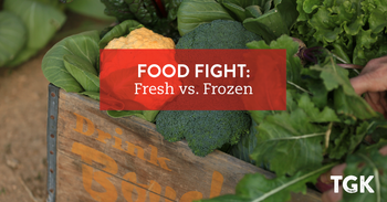 Food Fight: Fresh Vs. Frozen