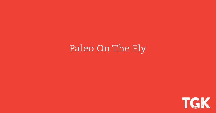 Paleo On The Fly