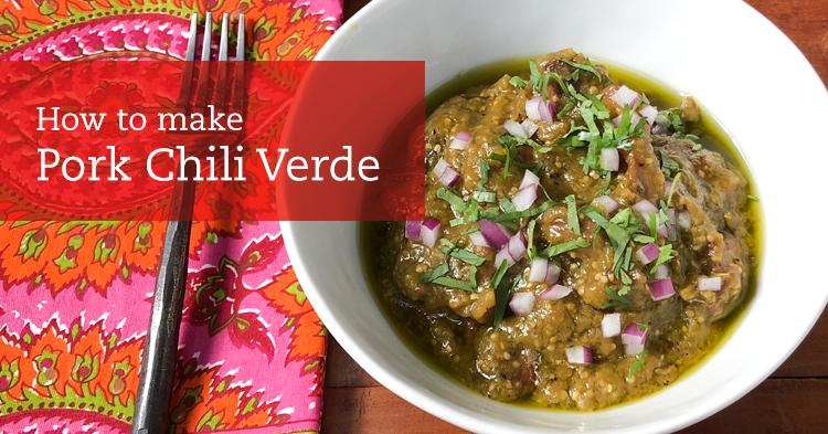 Pork Chili Verde Recipe