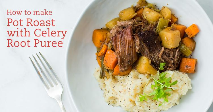 Pot Roast with Celery Root Puree Recipe