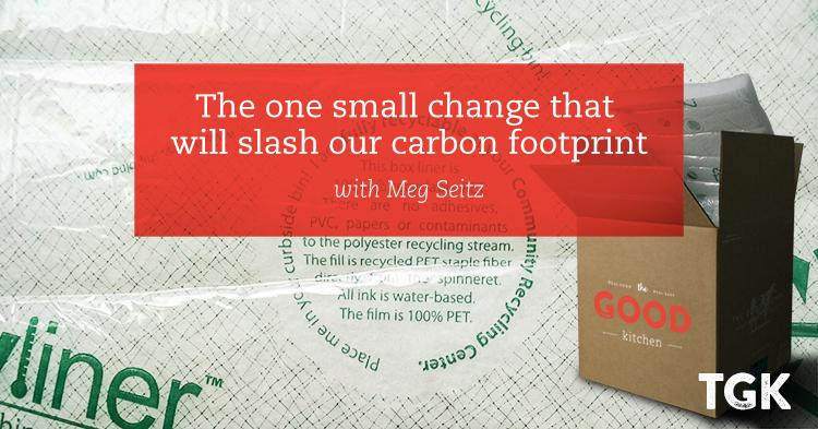 The One Small Change That Will Slash Our Carbon Footprint