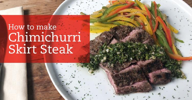 Chimichurri Skirt Steak Recipe