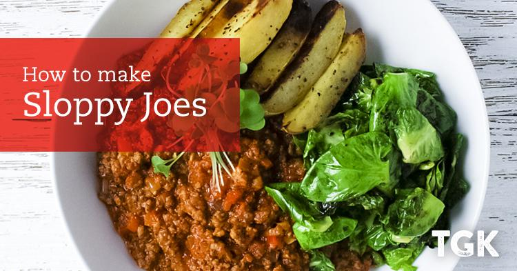 Sloppy Joes with Fingerling Potatoes Recipe