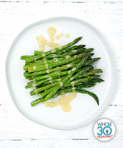 Bulk Roasted Asparagus with Citrus Vinaigrette
