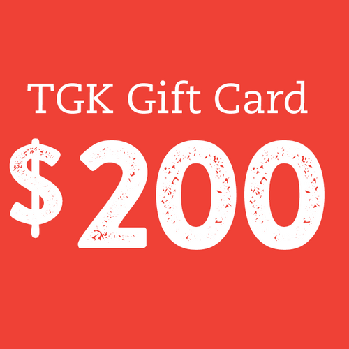 Gift Card: $200