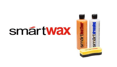 SMARTWAX – 3 PIECE INTERIOR KIT – SMART DRESSING + SMART LEATHER (16oz) + Smartwax sponge applicator