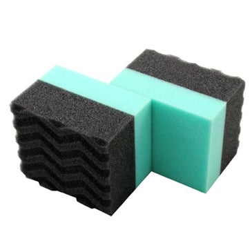 DURAFOAM TIRE DRESSING APPLICATOR Green/Black – 2 PACK