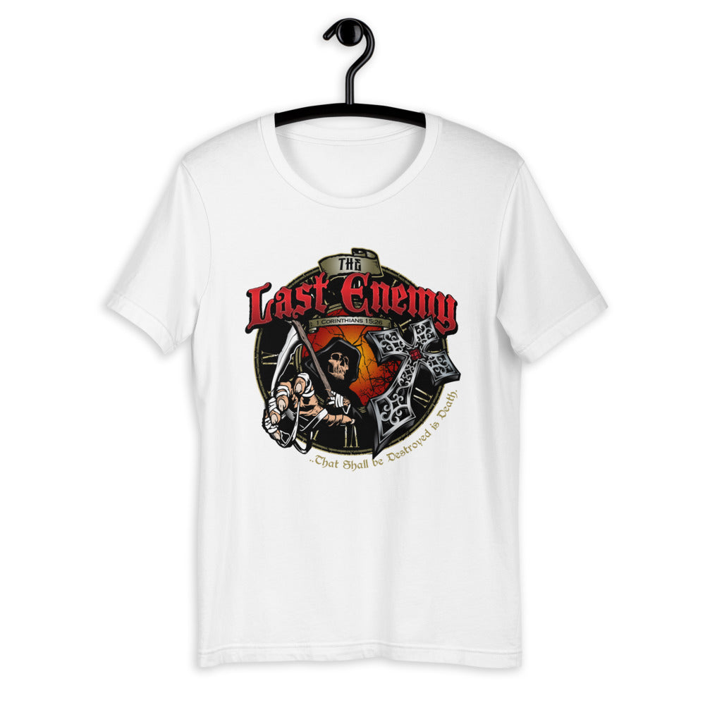 The LAST ENEMY Death - T-Shirt (multi-color)