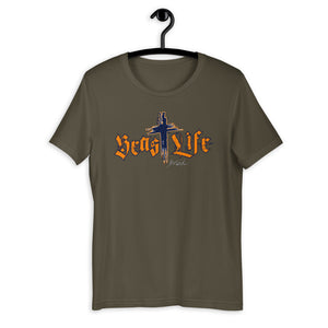 BeastLIFE Live Powerful T-Shirt - (Many colors options)