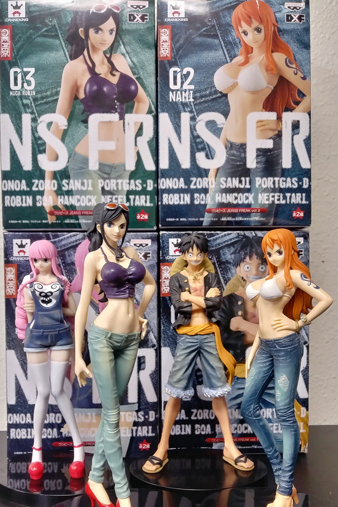 One Piece Jean Freak Figures (Part One)